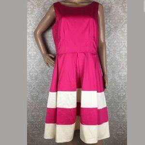Kate Spade Mandy striped sleeveless dress
